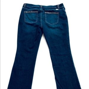 INC International Concepts Jeans - Inc Plus Size Jeans Size 14 Crystals